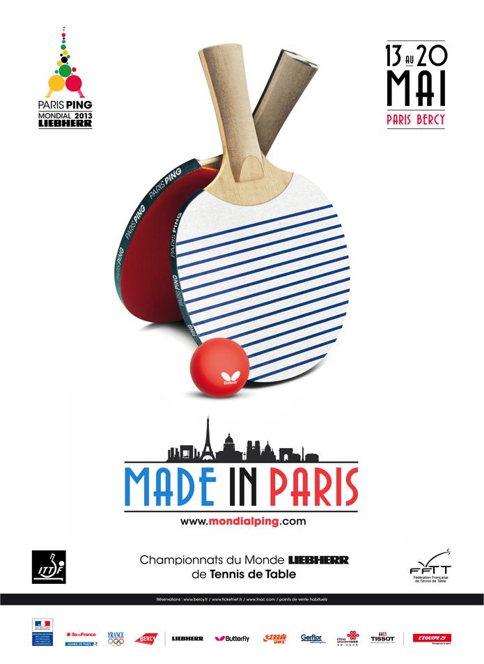 benjamin lecoq-graphiste directeur artistique-paris clichy-logo branding identité visuelle-site internet publicité-logo affiche championnat mondial ping paris 2013
