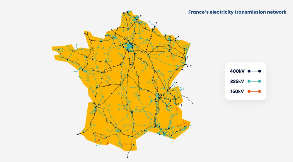 benjamin lecoq -graphiste paris clichy - france datacenter & gimelec - brochure investir en france - data - benjamin_lecoq-graphiste-france_datacenter&gimelec-brochure_investir_en_france_data - Réseau de transport d'électricité en France
