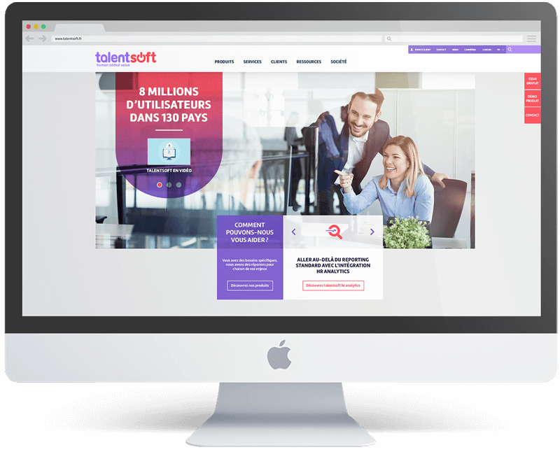 benjamin lecoq-graphiste-identite visuel logo site internet ux motion-refont identite start-up talentsoft - refont site homepage mobile