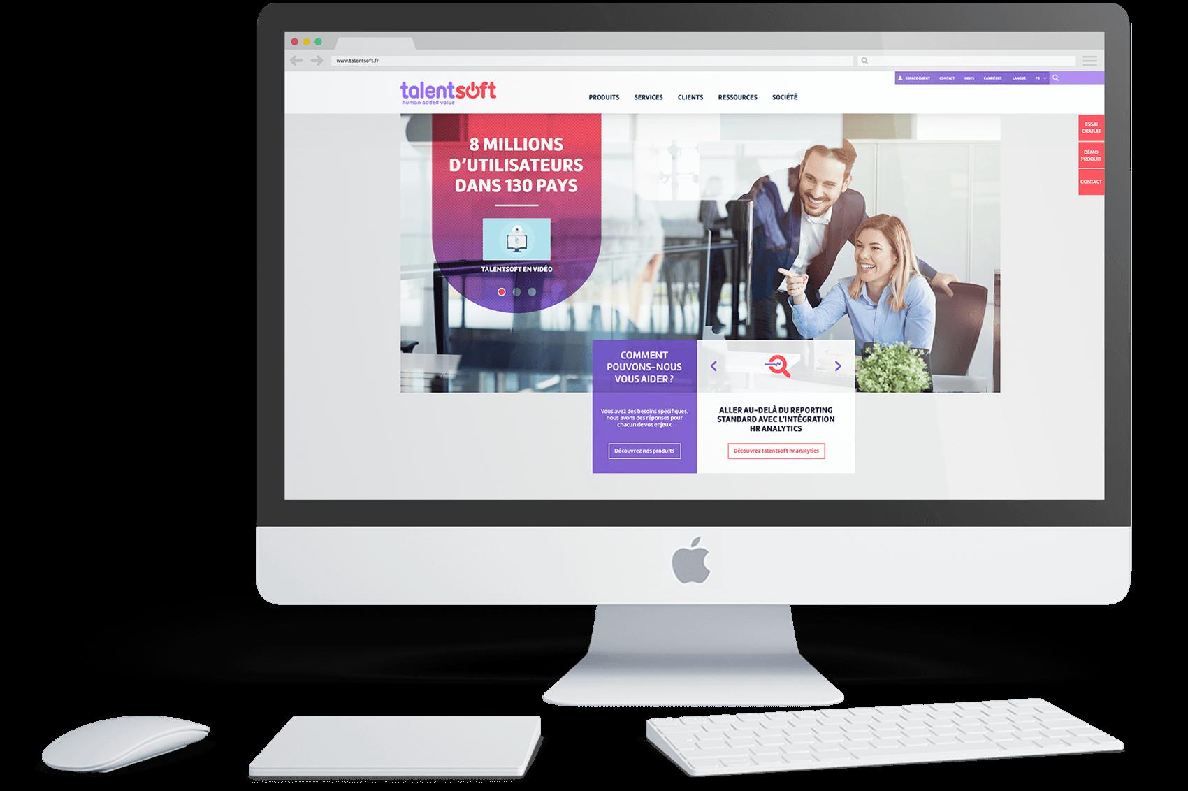 benjamin lecoq-graphiste-identite visuel logo site internet ux motion-refont identite start-up talentsoft - refont site homepage