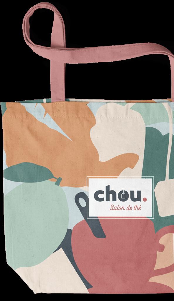 benjamin lecoq-graphiste-paris-site internet, motion design, publicité, logo, identité visuelle-habillage sac packaging-chou salon de thé patisserie