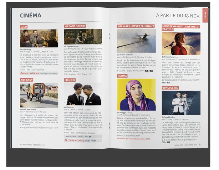benjamin lecoq - graphiste paris - site identité graphique print - communication publique - LAB mag - magazine mensuel agglomération argenteuil bezons films