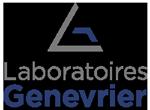 benjamin lecoq graphiste à paris - communication médicale - laboratoire genevrier logo