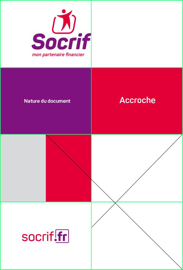 graphiste à paris et clichy - benjamin lecoq - logo identité visuelle de socrif organisme de prêt public sncf - guideline