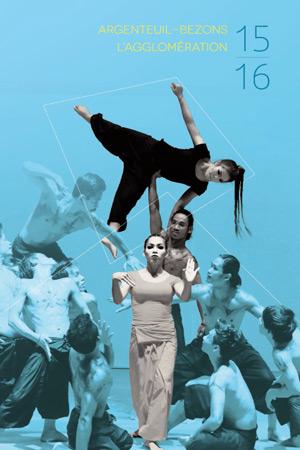 benjamin lecoq graphiste à paris et clichy -affiches de la programmation de la saison culturelle d'Argenteuil Bezons cirque du soleil