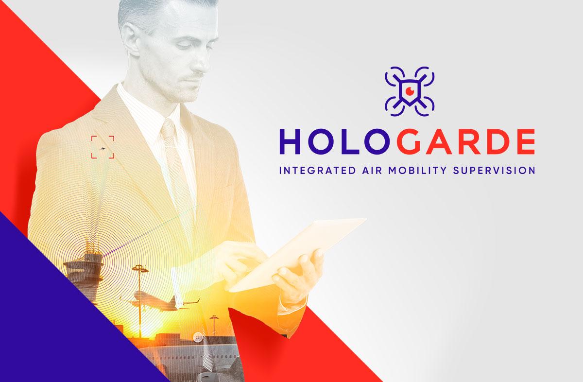 identité visuelle d'Hologarde