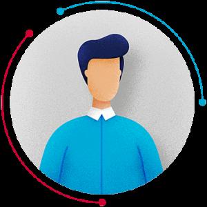 benjamin lecoq graphiste directeur artistique - paris -site internet, logo, identité visuelle, branding, motion design, publicité - alliance industrie du futur-site vitrine label avatar-homme